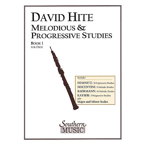 Southern Melodious and Progressive Studies, Book 1 (Oboe) Southern Music Series Arranged by David Hite-thumbnail