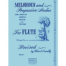 Hal Leonard Melodious and Progressive Studies for Flute (Book 1) Robert Cavally Editions Series