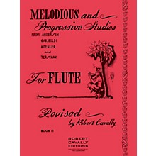 Hal Leonard Melodious and Progressive Studies for Flute (Book 2) Robert Cavally Editions Series