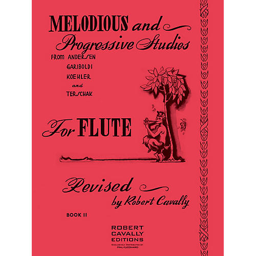 Hal Leonard Melodious and Progressive Studies for Flute (Book 2) Robert Cavally Editions Series-thumbnail