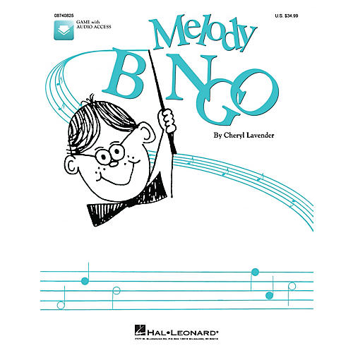 Hal Leonard Melody Bingo (Replacement CD) CD Composed by Cheryl Lavender-thumbnail
