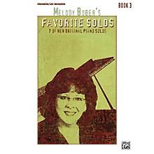 Alfred Melody Bober's Favorite Solos, Book 3 Intermediate / Late Intermediate