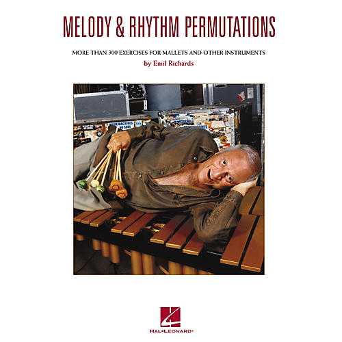 Hal Leonard Melody & Rhythm Permutations Percussion Series Softcover Written by Emil Richards-thumbnail