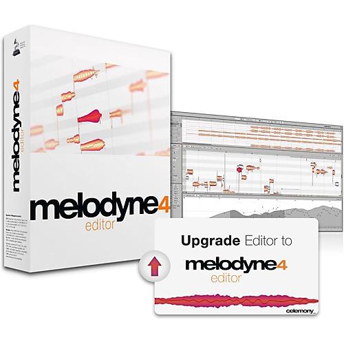 Celemony Melodyne 4 Editor - Editor Upgrade-thumbnail