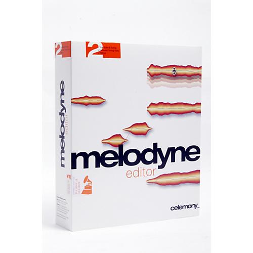 Celemony Melodyne Editor 2 Audio Editing Software