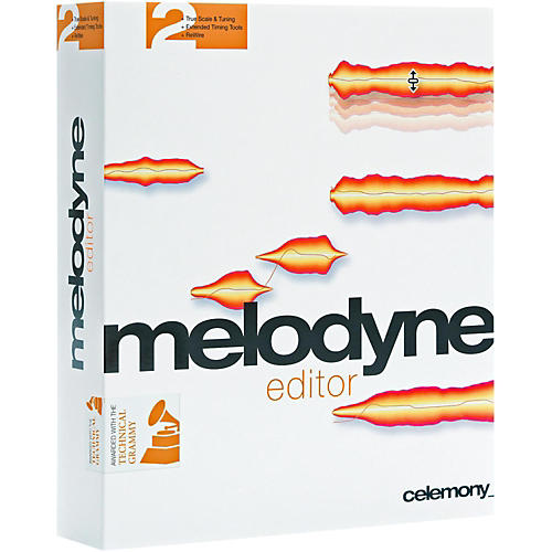 Celemony Melodyne Editor 2 Upgrade From Discontinued Melodyne Plug-in or Uno Software Download