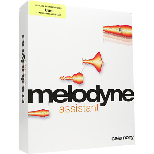 Celemony Melodyne assistant Upgrade from uno