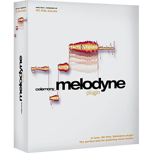 Celemony Melodyne plugin
