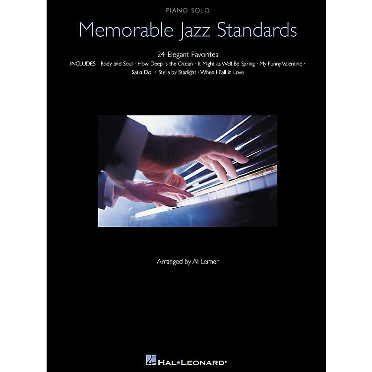 Hal LeonardMemorable Jazz Standards for Piano Solo - 24 Elegant Favorites