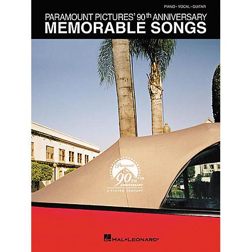 Hal Leonard Memorable Songs Piano, Vocal, Guitar Songbook