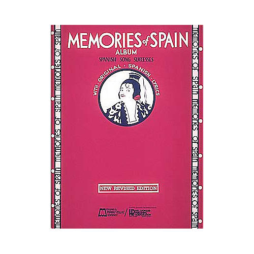 Edward B. Marks Music Company Memories of Spain Piano, Vocal, Guitar Songbook-thumbnail