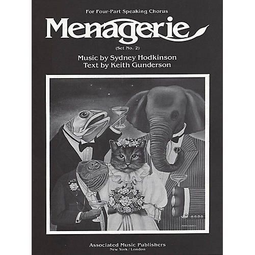 Associated Menagerie (Set No. 2) (SATB) SATB composed by Sydney Hodkinson-thumbnail