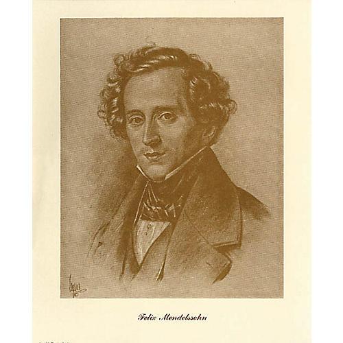 Music Sales Mendelssohn (Lupas Large Portrait Poster) Music Sales America Series-thumbnail