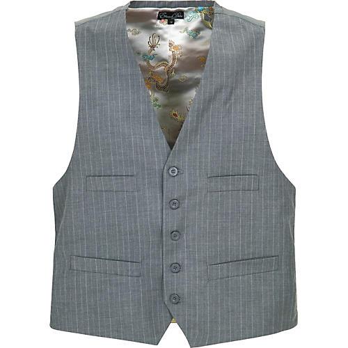Edward Dada Men's Vest With Leather Cross-thumbnail