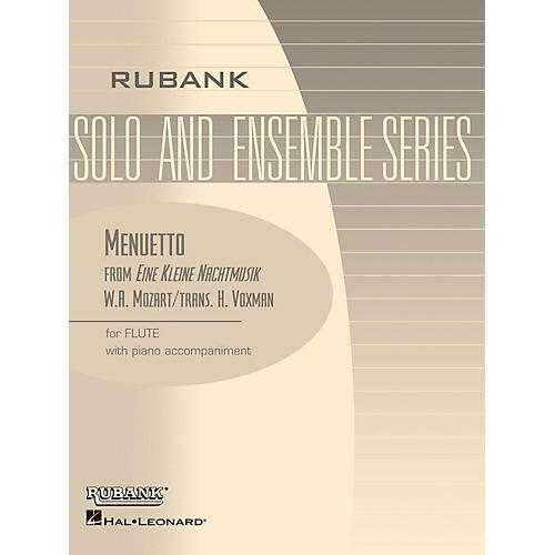 Rubank Publications Menuetto from Eine Kleine Nachtmusik Rubank Solo/Ensemble Sheet Series Softcover-thumbnail