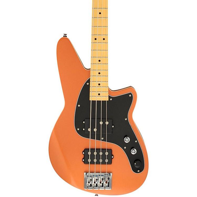 ReverendMercalli 4 Electric Bass GuitarMetallic Copper Fire