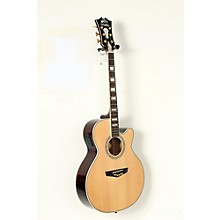D'Angelico Mercer Grand Auditorium Cutaway Acoustic-Electric Guitar Level 2 Natural 190839050922