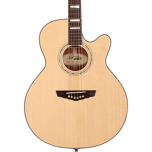 D'Angelico Mercer Grand Auditorium Cutaway Acoustic-Electric Guitar