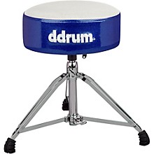 Ddrum Mercury Fat Throne White Blue Sparkle