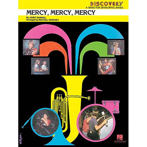 Hal Leonard Mercy, Mercy, Mercy Concert Band Level 1.5 Arranged by Michael Sweeney-thumbnail