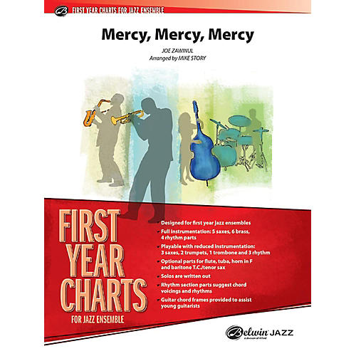 Alfred Mercy, Mercy, Mercy Jazz Band Grade 1 Set-thumbnail