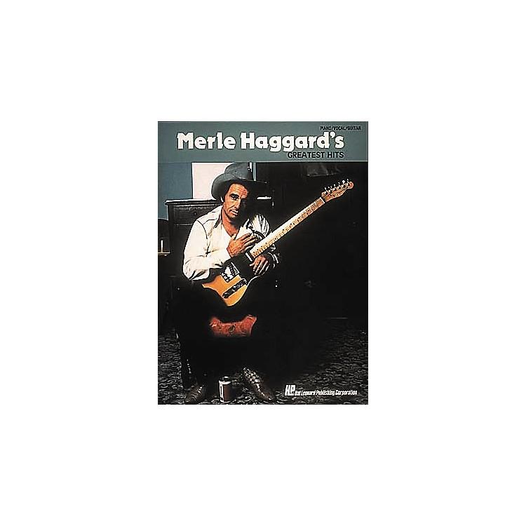 Hal LeonardMerle Haggard's Greatest Hits Piano, Vocal, Guitar Songbook