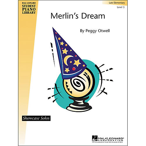Hal Leonard Merlin's Dream Late Elementary Level 3 Showcase Solos Hal Leonard Student Piano Library