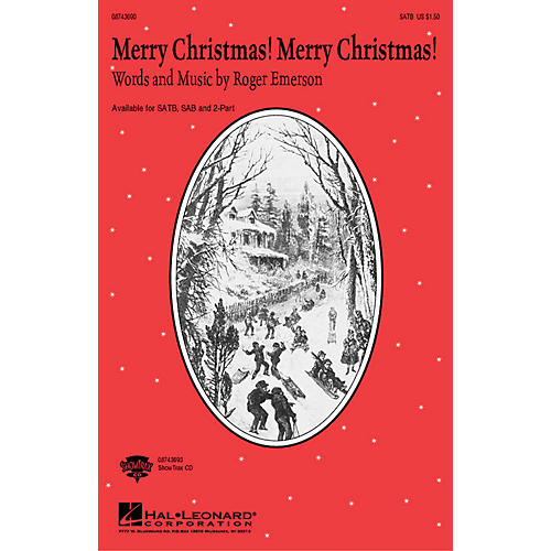 Hal Leonard Merry Christmas! Merry Christmas! 2-Part Composed by Roger Emerson-thumbnail