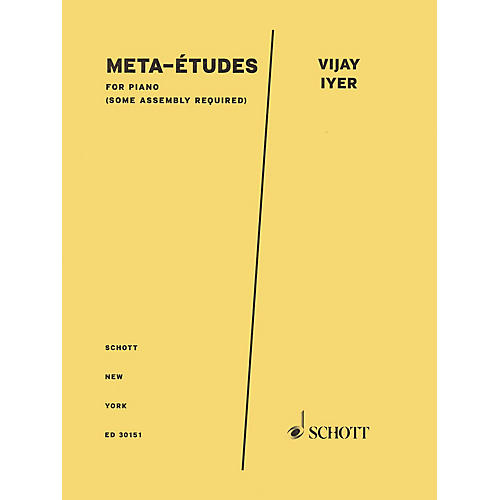 Schott Meta-Etudes for Piano Schott Series Softcover Composed by Vijay Iyer-thumbnail