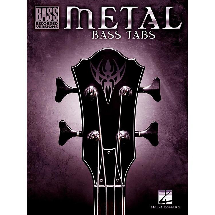 Hal LeonardMetal Bass Tabs