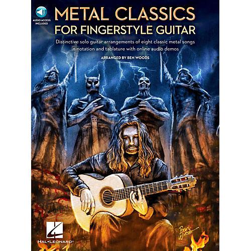 Hal Leonard Metal Classics For Fingerstyle Guitar (Book/Online Audio)