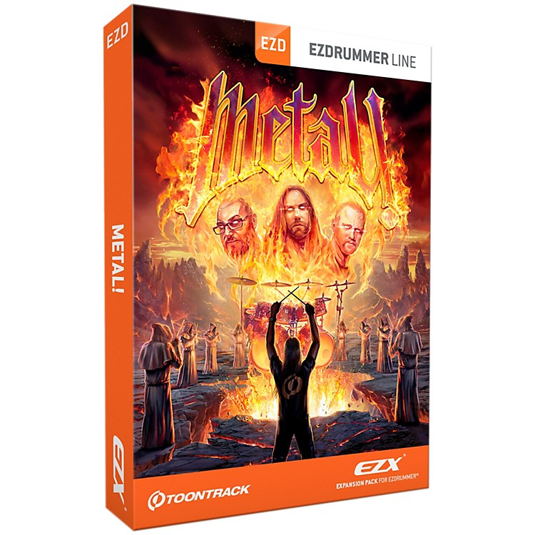 Toontrack Metal! EZX Software Download Software Download
