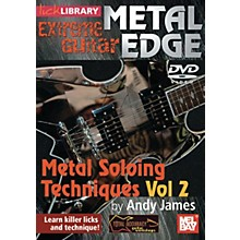 Mel Bay Metal Edge: Metal Soloing Techniques Vol. 2 DVD