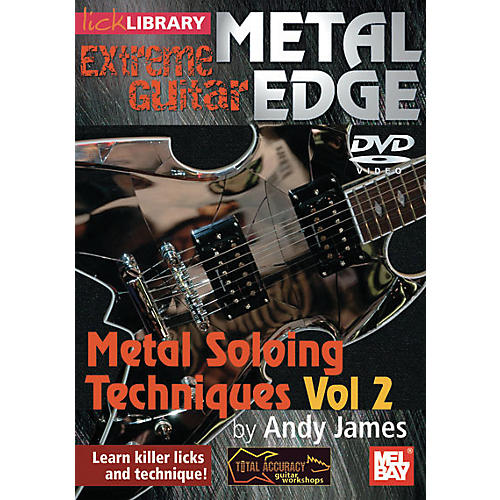 Hal Leonard Metal Edge: Metal Soloing Techniques Vol. 2 DVD