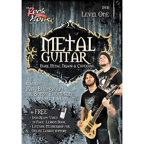 Rock House Metal Guitar - Dark Metal, Triads & Chugging Level 1, Featuring Ravi Bhadriraju and Bobby Thompson (DVD)