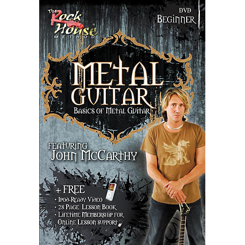 Rock House Metal Guitar Beginner DVD