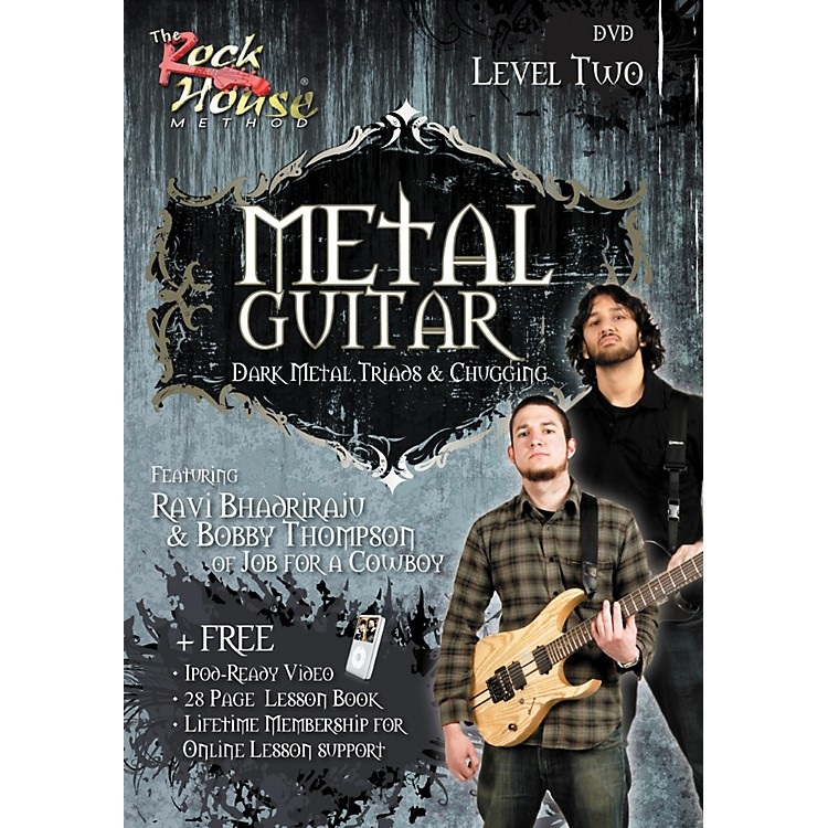 Rock House Metal Guitar- Dark Metal, Triads & Chugging Level 2, Featuring Ravi Bhadriraju and Bobby Thompson (DVD)