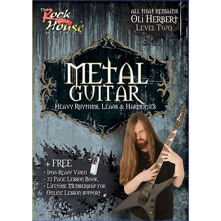 Rock House Metal Guitar- Heavy Rhythms, Leads & Harmonies Level 2 with Oli Herbert of All That Remains (DVD)