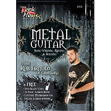 Hal Leonard Metal Guitar, Song Writing, Riffing and Soloing With Rob Arnold of Chimaira DVD
