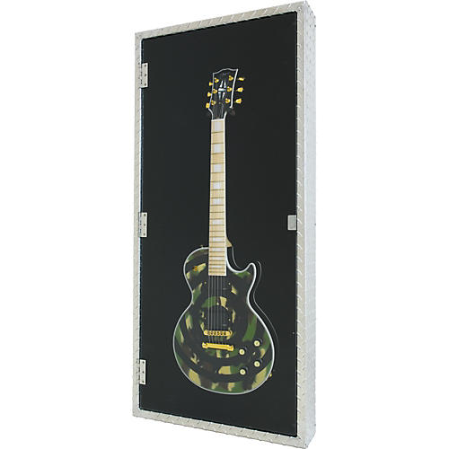 Display and Play MetalHead Electric Guitar Display Case-thumbnail