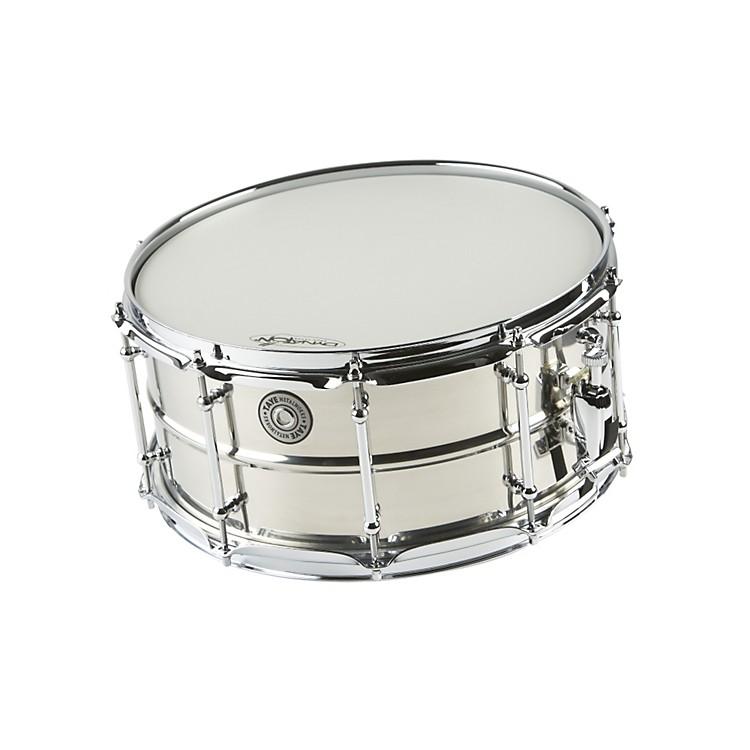 Taye DrumsMetalWorks Stainless Steel Snare Drum with Vintage Style Tube Lugs14x6.5