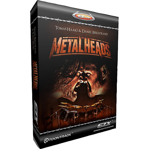 Toontrack Metalheads EZX Software Download