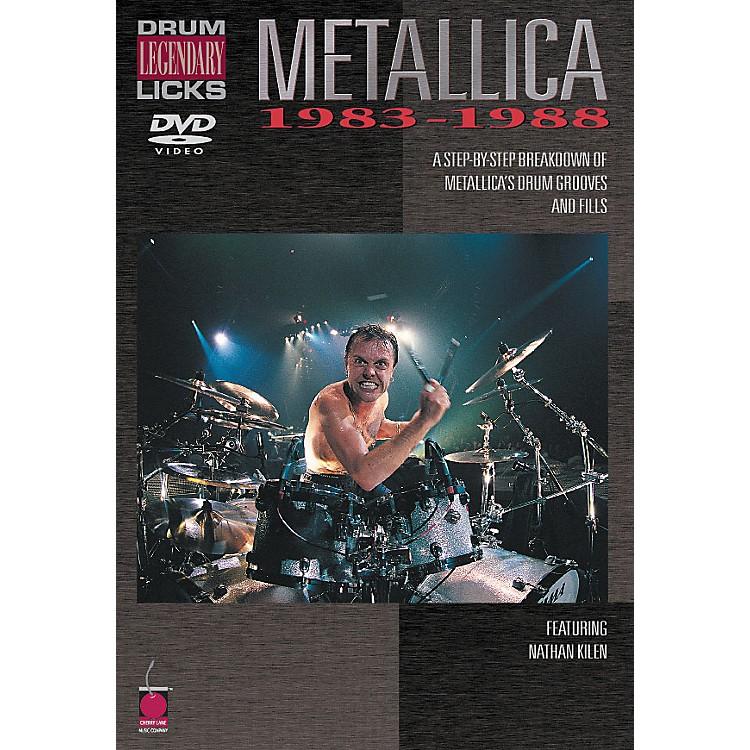 Cherry LaneMetallica - Drum Legendary Licks 1983-1988 DVD