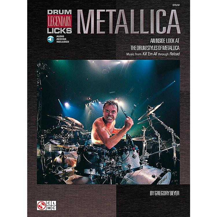 Hal LeonardMetallica - Drum Legendary Licks Book with CD