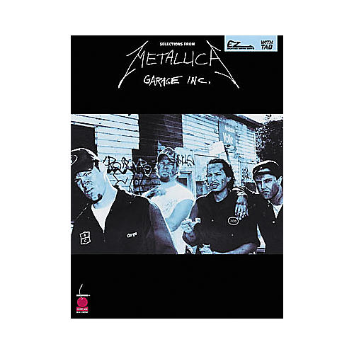 Cherry Lane Metallica - Garage Inc. Book