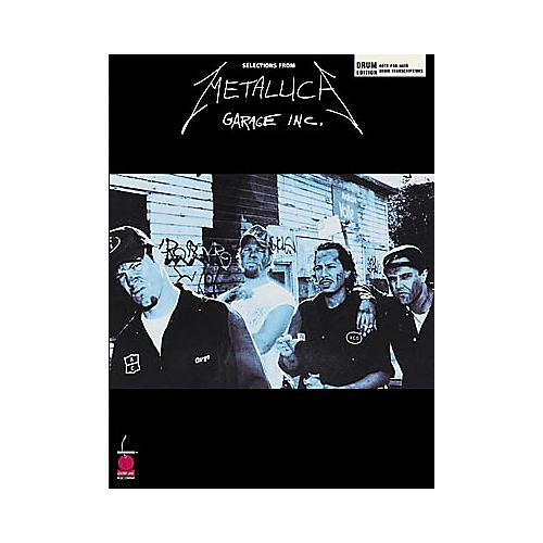 Hal Leonard Metallica - Garage Inc. Drum Book-thumbnail