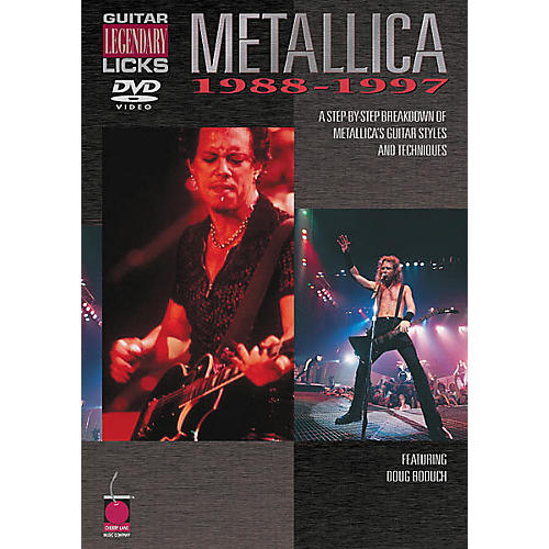 Cherry Lane Metallica - Guitar Legendary Licks 1988-1997 (DVD)