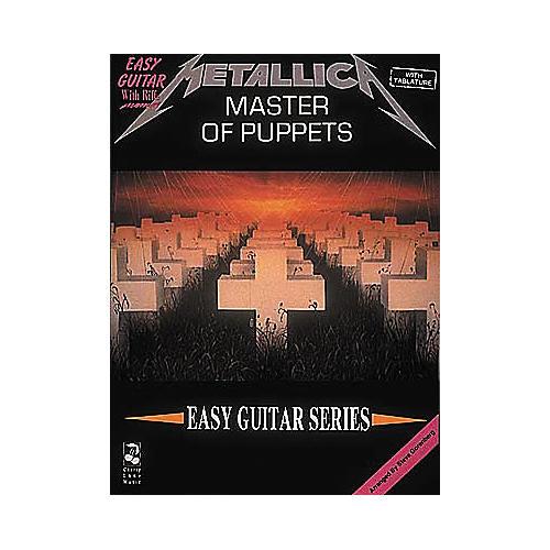 Cherry Lane Metallica - Master of Puppets Book-thumbnail