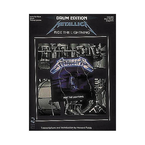 Hal Leonard Metallica - Ride The Lightning Drum Book-thumbnail
