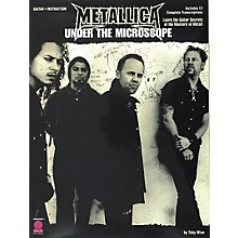 Cherry Lane Metallica - Under the Microscope Guitar Tab Instructional Songbook